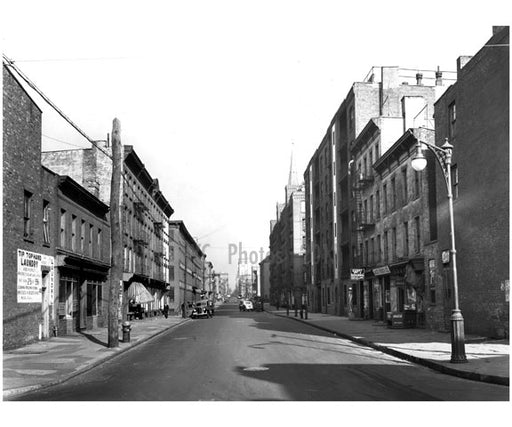 Looking north on Hicks Street from Kane Street 1941 Old Vintage Photos and Images