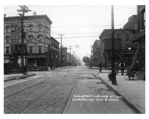 Lorimer & Metropolitan Ave - Williamsburg - Brooklyn, NY 1917 Q Old Vintage Photos and Images