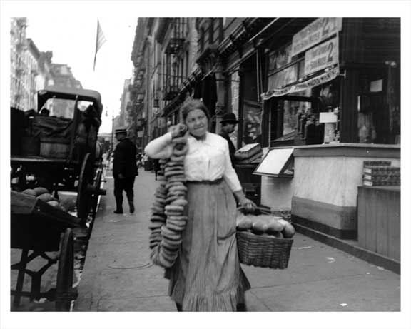 Lower East Side Bread Delivery 1920 Old Vintage Photos and Images