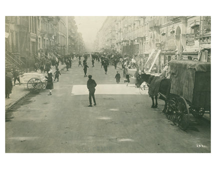 Lower East Side Street Scene B Old Vintage Photos and Images