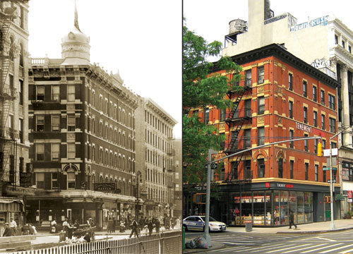 Lower East Side Tenement Museum Orchard St. at Delancey Old Vintage Photos and Images
