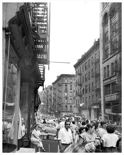 Orchard Street, Lower East Side NYC - 1948