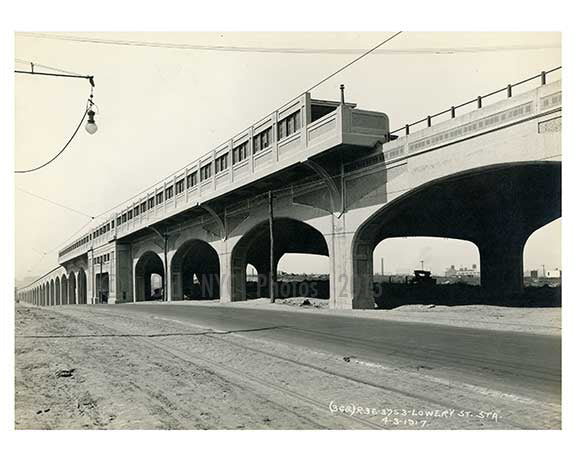 Lowery Street Station 1917  - Astoria - Queens, New York
