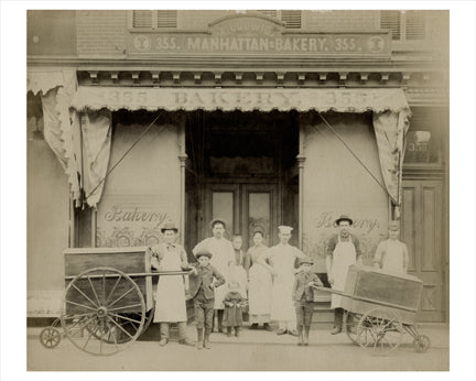 Ludwig Manhattan Bakery Old Vintage Photos and Images