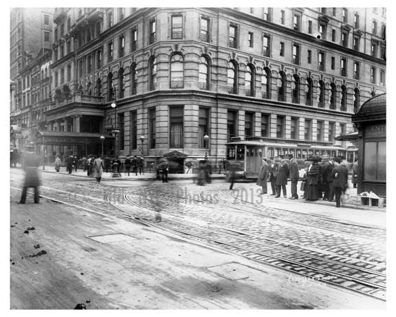 Madison & 42nd Street  - Murray Hill-  Manhattan - New York, NY 1910 Old Vintage Photos and Images