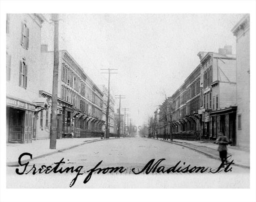 Madison Street Ridgewood Old Vintage Photos and Images