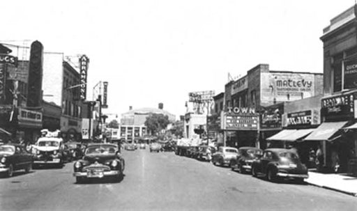 Main Street Flushing - 1940s Old Vintage Photos and Images