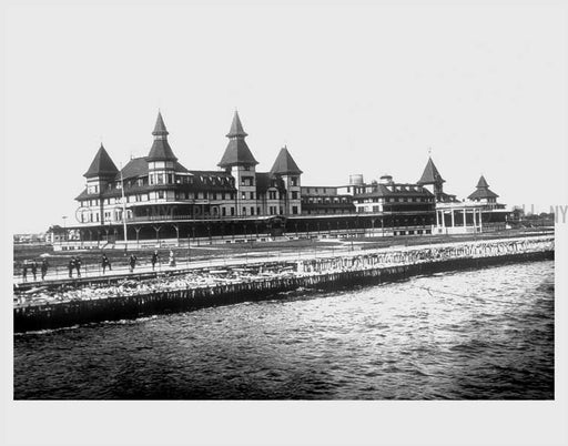 Manhattan Beach Hotel Old Vintage Photos and Images