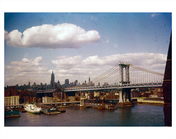 Manhattan bridge Old Vintage Photos and Images