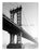 Manhattan Bridge - from Manhattan shores Old Vintage Photos and Images