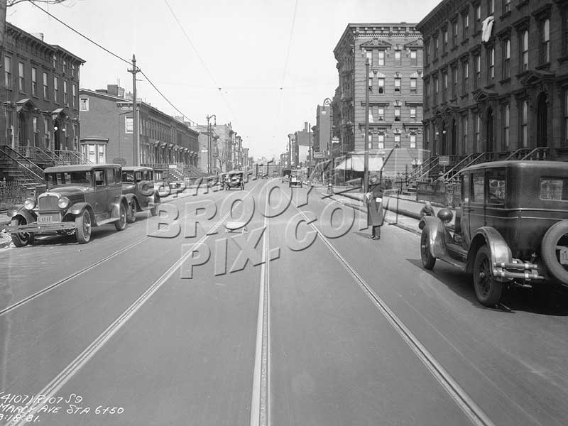 Marcy Avenue, north to Pulaski Street, 1931