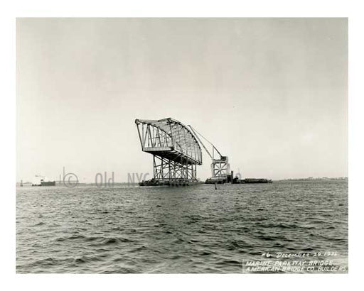Marine Parkway Bridge 1936 Queens, NY Old Vintage Photos and Images