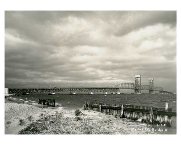 Marine Parkway Bridge - 1941 Queens, NY Old Vintage Photos and Images