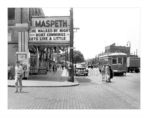 Maspeth Theater Old Vintage Photos and Images