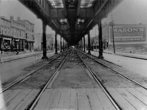 McDonald Avenue looking north from Avenue F, 1924 Old Vintage Photos and Images
