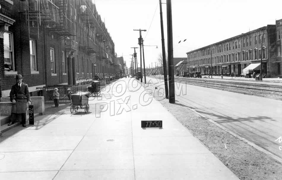 McDonald Avenue looking south to Avenue C, 1929 Old Vintage Photos and Images
