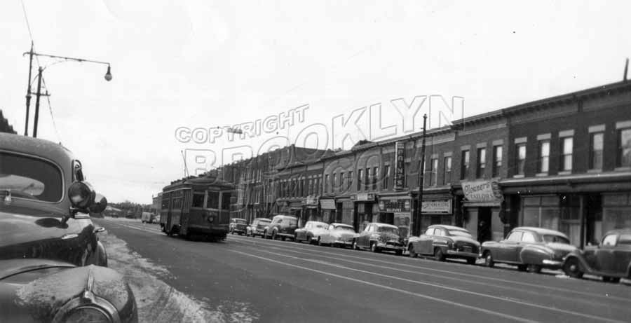 McDonald Avenue looking south to Avenue C, c.1951 Old Vintage Photos and Images