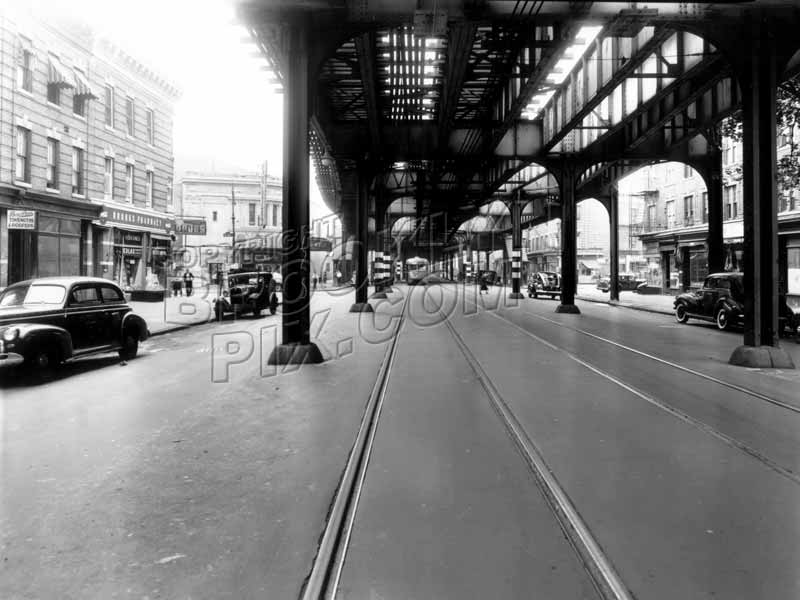 McDonald Avenue north at 18th Avenue, 1946 Old Vintage Photos and Images