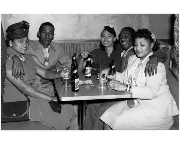 "Merrick Blvd. South ""Ye Old Still""  Club 1951 Jamaica - Queens NY A Old Vintage Photos and Images"