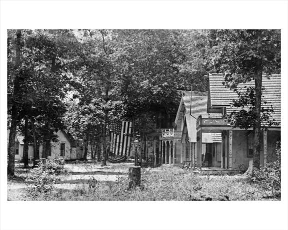 """Tiny town"" Merrick Camp Ground 1906 Long Island, NY Old Vintage Photos and Images"