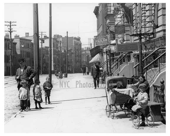 Metropolitan Ave  - Williamsburg Brooklyn, NY 1916 X20 Old Vintage Photos and Images
