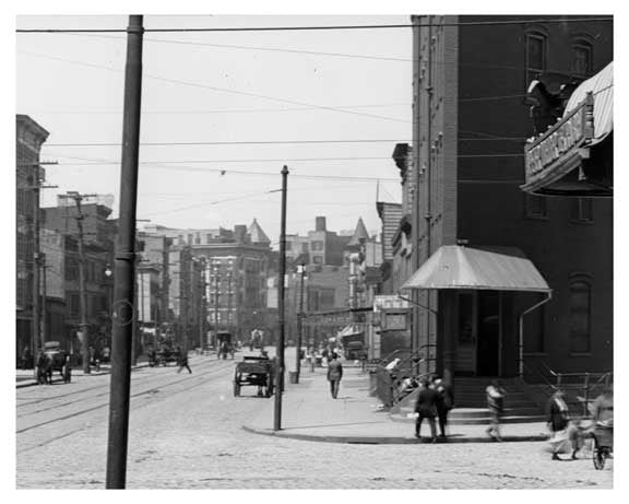 Metropolitan Ave  - Williamsburg Brooklyn, NY 1916 X12 Old Vintage Photos and Images