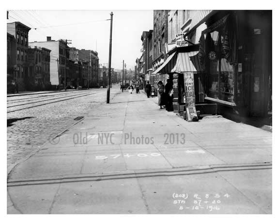 Metropolitan Ave  - Williamsburg Brooklyn, NY 1916 X11 Old Vintage Photos and Images
