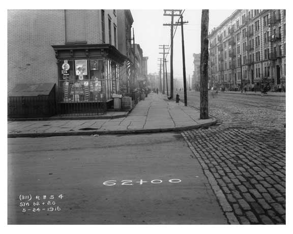 Metropolitan Ave - Williamsburg - Brooklyn, NY 1916 A Old Vintage Photos and Images
