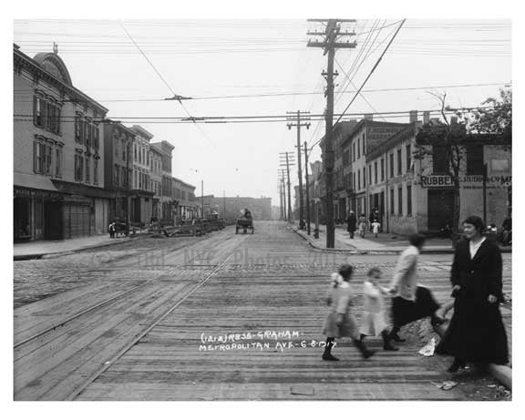 Metropolitan & Graham - Williamsburg - Brooklyn, NY 1917 R4 Old Vintage Photos and Images