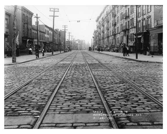 Metropolitan & Lorimer Street - Williamsburg - Brooklyn, NY 1916 IV Old Vintage Photos and Images