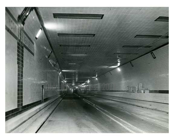 Midtown Tunnel prior to opening - Manhattan 1940 NYC Old Vintage Photos and Images