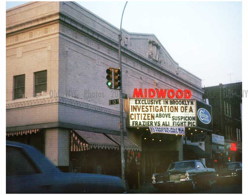 Midwood theatre Ave J & E.13th street Old Vintage Photos and Images