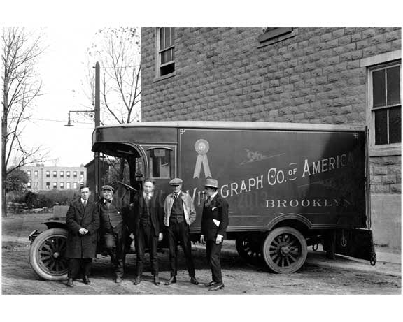 Midwood Vitagraph Movie Studio Truck 1915 Old Vintage Photos and Images