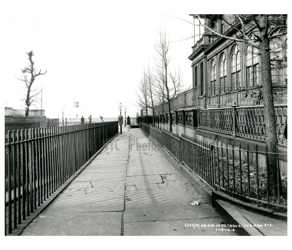 Montague & Furman St. 1915 - Brooklyn Heights - Brooklyn NY Old Vintage Photos and Images