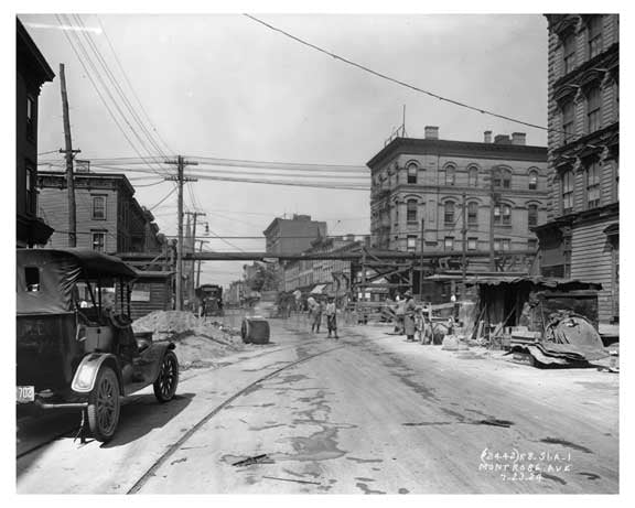 Montrose Ave  - Williamsburg - Brooklyn , NY  1923 C Old Vintage Photos and Images
