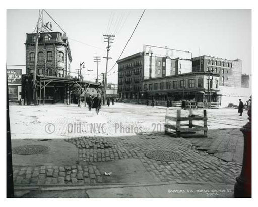 Morris Ave & 138th Street - South Bronx NYC 1914 Old Vintage Photos and Images