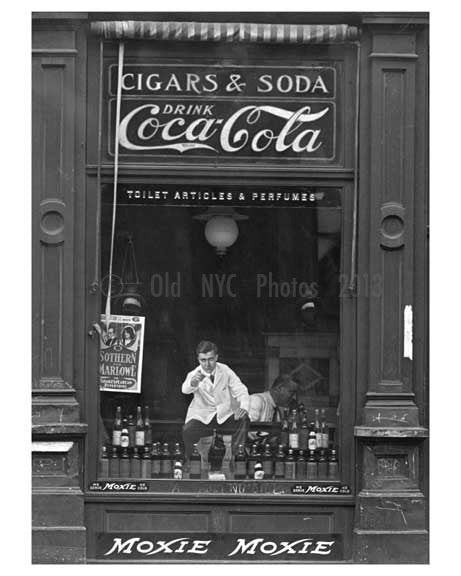 """Moxie Moxie"" 1718 & 1720 Lexington Avenue & 108th Street 1911 - Upper East Side, Manhattan - NYC Old Vintage Photos and Images"