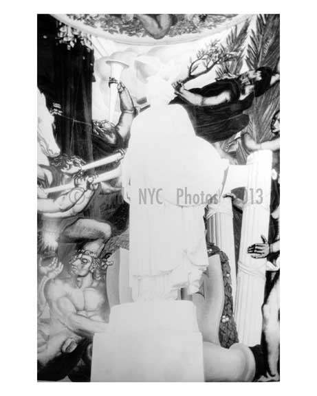 Mural at the Worlds Fair 1939 - Flushing - Queens - NYC Old Vintage Photos and Images