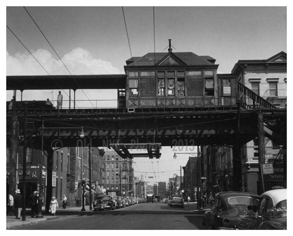 Myrtle Ave L - Bedford-Stuyvesant - Brooklyn NY Old Vintage Photos and Images