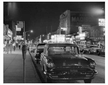 Myrtle Ave & Palmetto St Bushwick Brooklyn NY Old Vintage Photos and Images