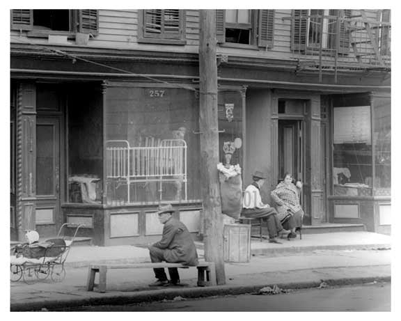 N 7th Street - Williamsburg - Brooklyn, NY 1916 Old Vintage Photos and Images