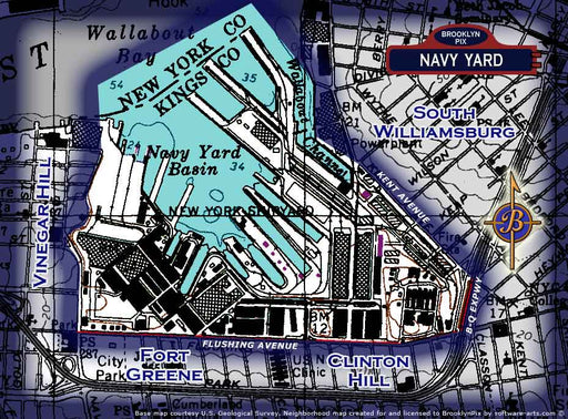 Navy yard area map Old Vintage Photos and Images