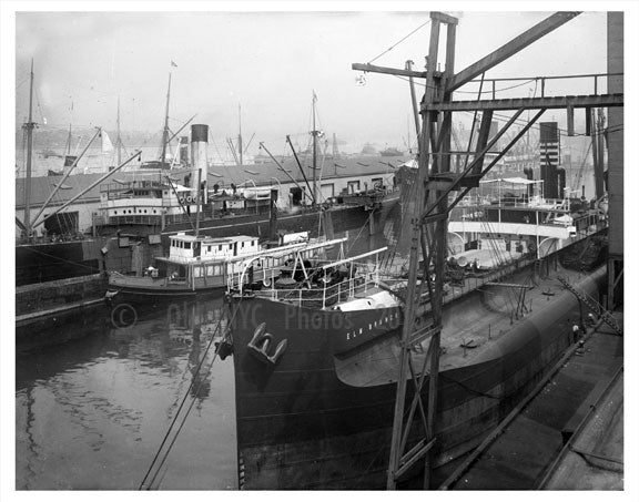 Navy Yard - ELM Branch ship Old Vintage Photos and Images