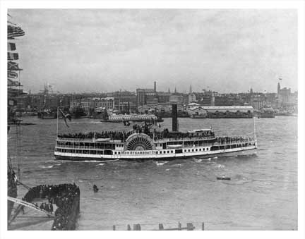 New Haven Iron Steamboat Old Vintage Photos and Images