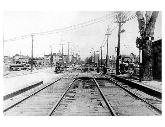 New Utrecht Ave & 62nd St.  - Sea Beach Line Old Vintage Photos and Images