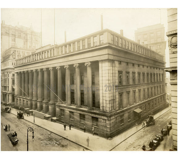 New York Custom House 1902 Old Vintage Photos and Images