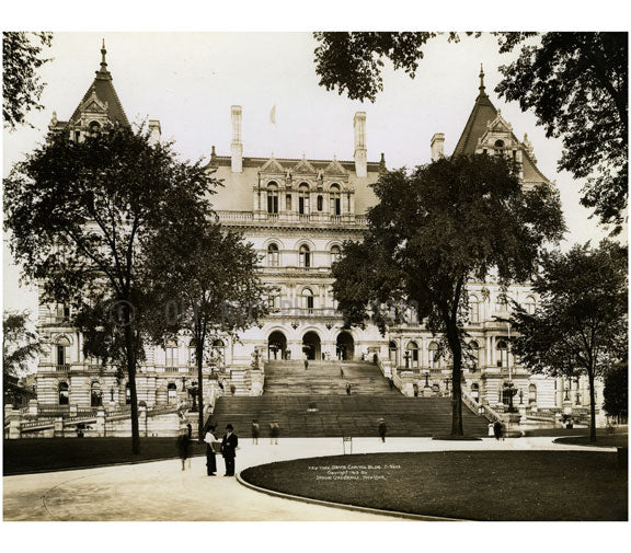 New York State Capitol 1913 Old Vintage Photos and Images
