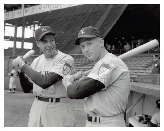 New York Yankees Mickey Mantle & Joe DiMaggio - 1950s