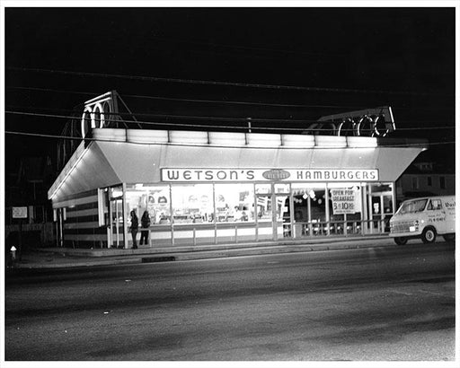 New Hyde Park Long Island, Wetson's Hamburgers 1966 Photos, Images & Pictures