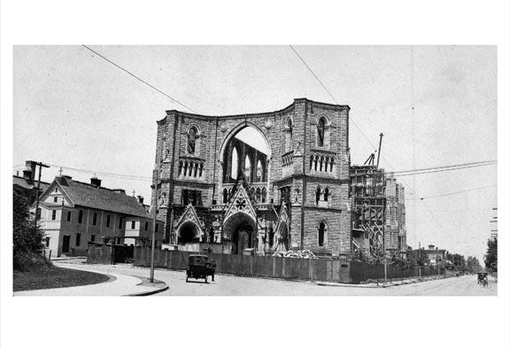Newark Cathedral 1916 Old Vintage Photos and Images